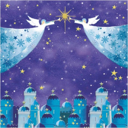 Angels Flight - Small Christmas Card Pack