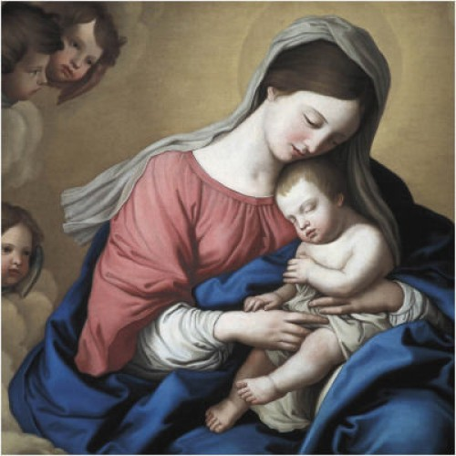 Madonna and Child - Small Christmas Card Pack