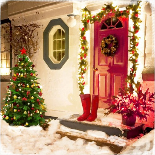 A Home For Christmas.Coming Home For Christmas Large Christmas Card Pack