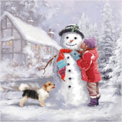 Christmas Kiss - Large Christmas Card Pack