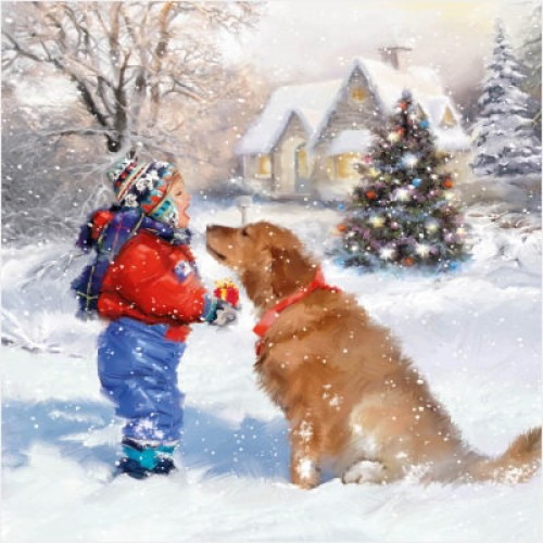 Best Friends - Small Christmas Card Pack