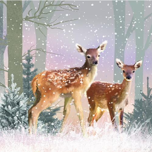First Snowfall - Small Christmas Card Pack