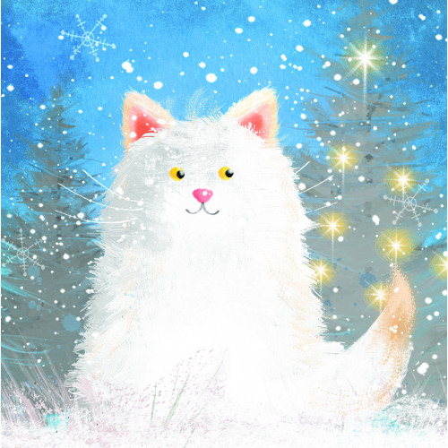 Look at me Sparkle - Small Christmas Card Pack