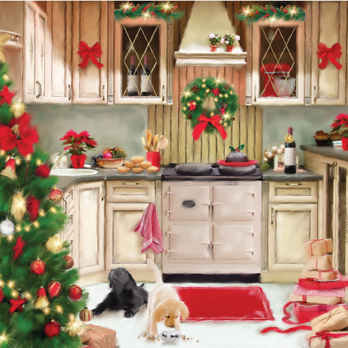 Christmas Kitchen - Large Christmas Card Pack