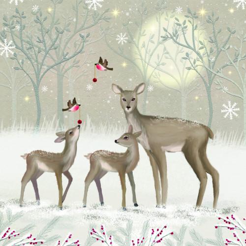 A Christmas Family - Small Christmas Card Pack