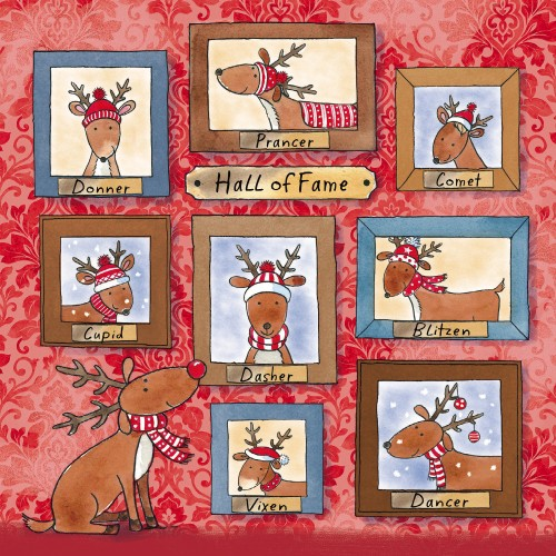 Hall of Fame - Small Christmas Card Pack