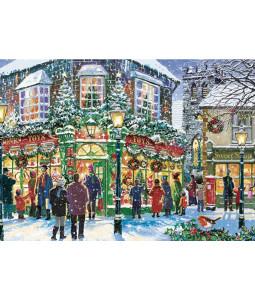 A Shopping Street - Christmas Card Pack