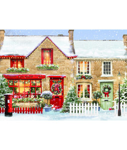 The Village Toy Shop - Christmas Card Pack