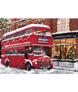 Colourful Street- Christmas Card Pack