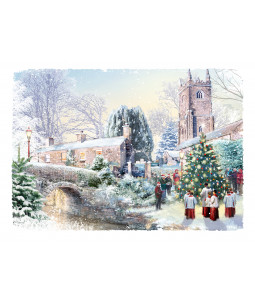 Singing by the Trees - Christmas Card Pack