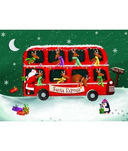 Santa Express - Christmas Card Pack