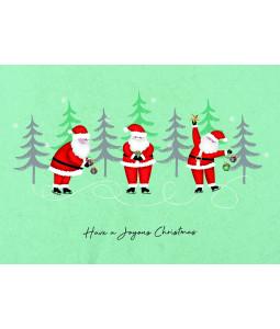 A little Santa Fun - Christmas Card Pack
