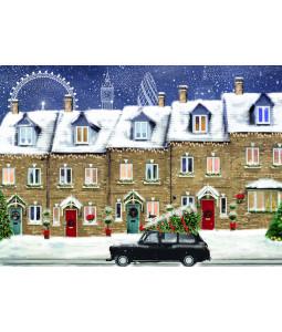 London Houses - Christmas Card Pack