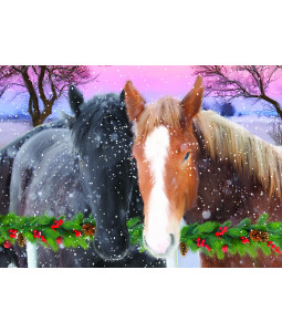 Best Buds - Christmas Card Pack (