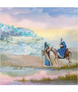 Flee to Egypt - Large Christmas Card Pack