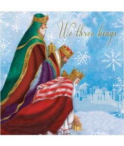 We Three Kings - Small Christmas Card Pack