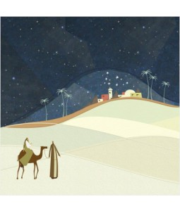 Flight to Egypt - Large Christmas Card Pack