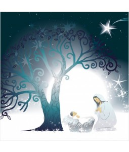 Mother and Child - Large Christmas Card Pack