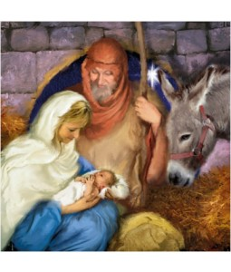 Nativity - Large Christmas Card Pack
