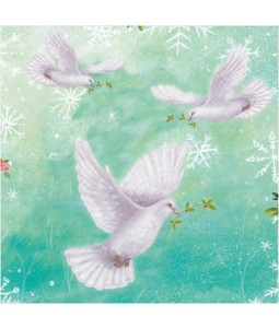 Turtle Doves - Small Christmas Card Pack