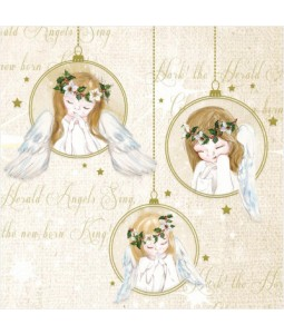 Trio of Angels - Small Christmas Card Pack