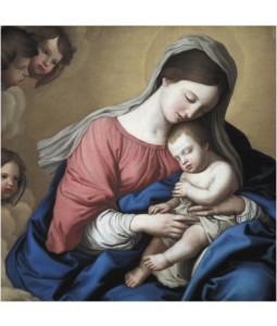 Madonna and Child - Large Christmas Card Pack