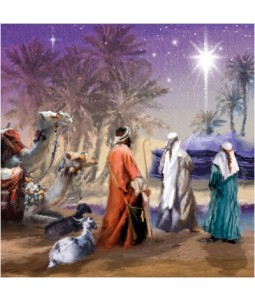 A Wonderful Star - Small Christmas Card Pack