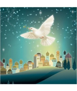 Dove in Bethlehem - Small Christmas Card Pack
