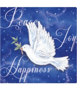 Blue Dove - Large Christmas Card Pack