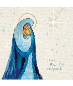 Peace Joy and Happiness - Large Christmas Card Pack