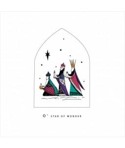 O Star of Wonder - Small Christmas Card Pack