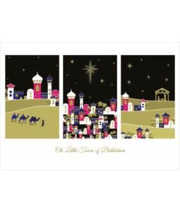 O Little Town of Bethlehem - Christmas Card Pack