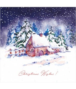 Little Cottage - Small Christmas Card Pack