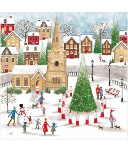 Church Square - Small Christmas Card Pack