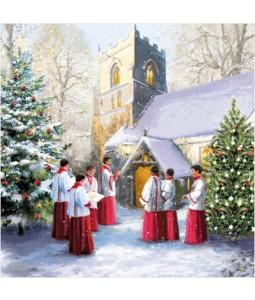 Boy Choir - Small Christmas Card Pack