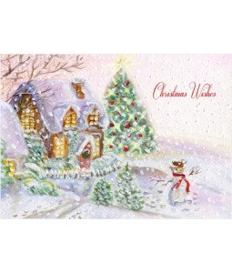 Happy Snowman - Christmas Card Pack