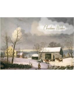 Winter Barn - Christmas Card Pack