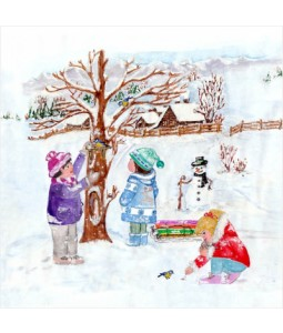 Family Time - Small Christmas Card Pack