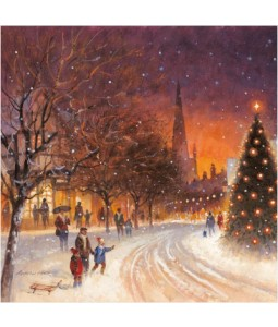 All Was Dark - Large Christmas Card Pack