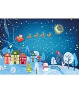 Festive Village - Christmas Card Pack