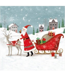 Gifted Santa - Large Christmas Card Pack