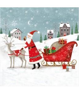 Gifted Santa - Small Christmas Card Pack