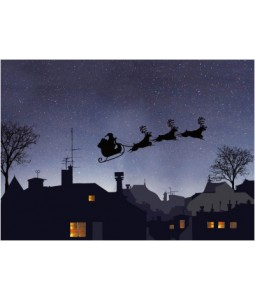Above the Rooftops - Christmas Card Pack