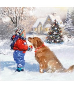 Best Friends - Large Christmas Card Pack