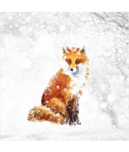 Winter Fox - Small Christmas Card Pack