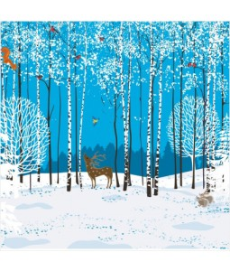 Woodland Creatures - Small Christmas Card Pack
