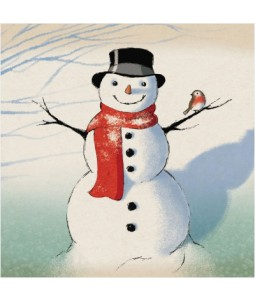 Frosty the Snowman - Small Christmas Card Pack
