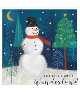 Walking in a Winter Wonderland - Small Christmas Card Pack