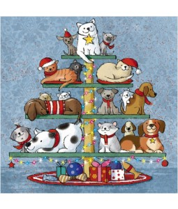 Pawfect Presents - Small Christmas Card Pack