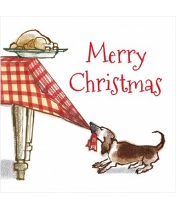 The Dogs Dinner - Small Christmas Card Pack